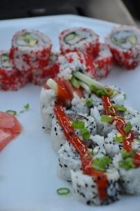 Sushi from the Matterhorn in Stowe, VT |EatStowe