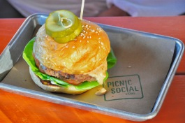 PS Burger at Picnic Social