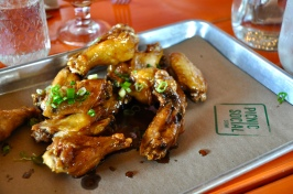 Spicy Cider Wings at Picnic Social
