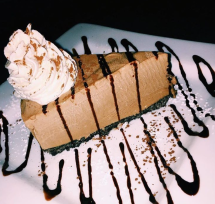 Frozen Mocha Cheesecake at Harrison't Restaurant