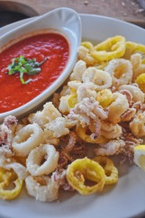 Fried Calamari | Junior's | Eat Stowe